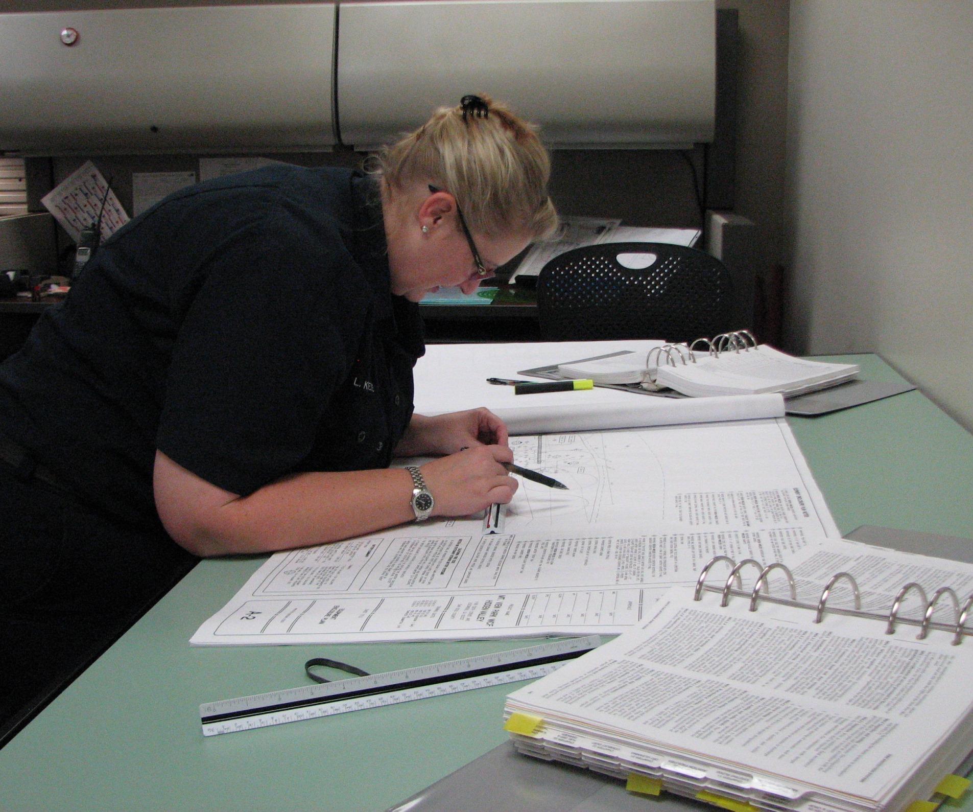 Plan Review Checking Escondido Fire Department