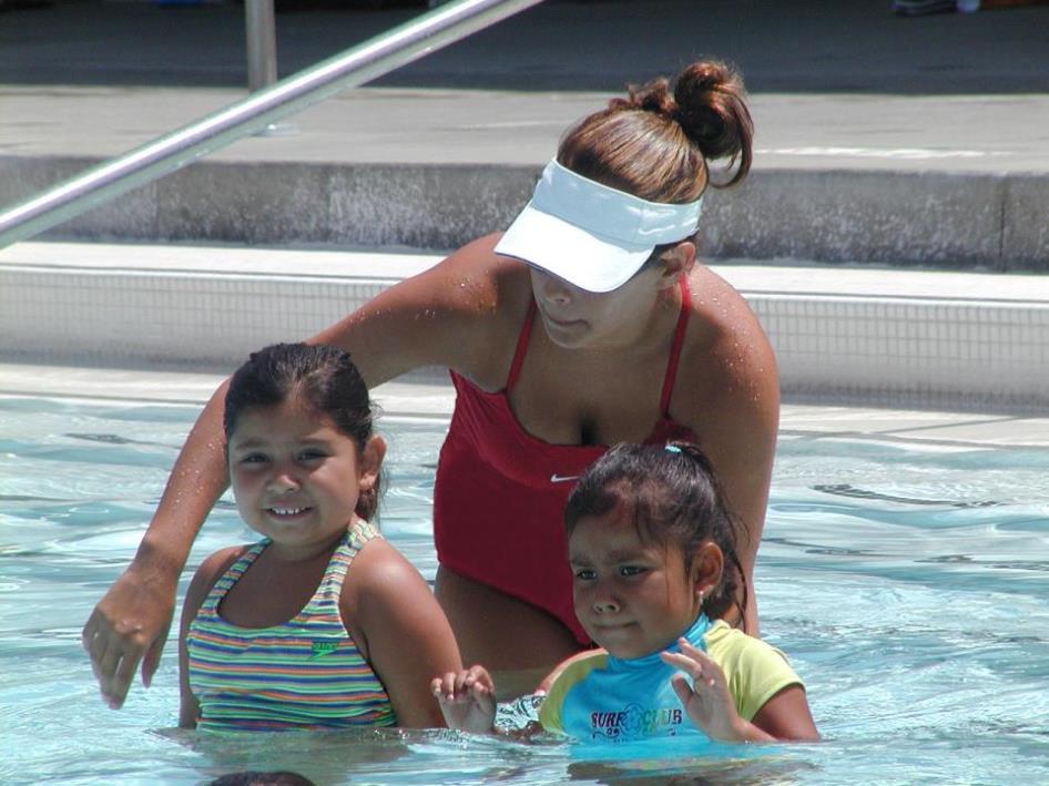 Swim Lesson #1